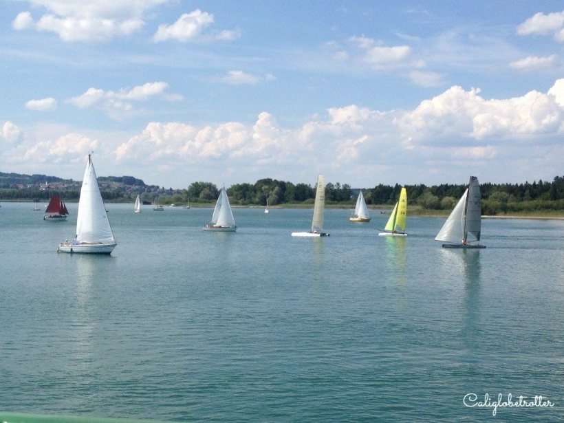 Chiemsee & Schloss Herrnchiemsee - California Globetrotter