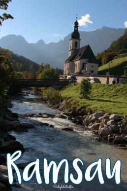 Parish Church of St. Sebastian in Ramsau, Bavaria near Berchtesgaden