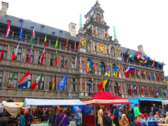 Antwerp, Belgium - California Globetrotter