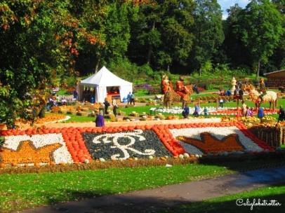 Schloss Ludwigsburg Pumpkin Festival - California Globetrotter