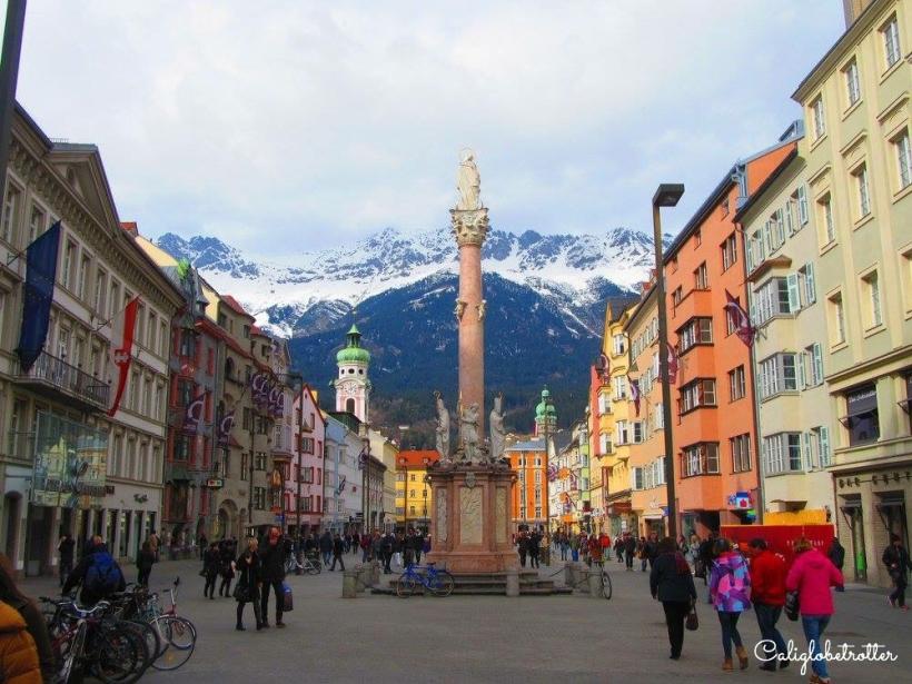 Innsbruck, Austria - California Globetrotter