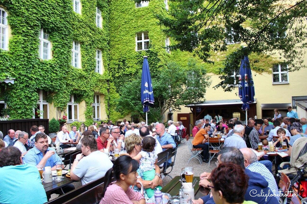Biergarten - 100 Interesting Facts About Germany - California Globetrotter