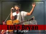 Luke Bryan in Munich, Germany - California Globetrotter