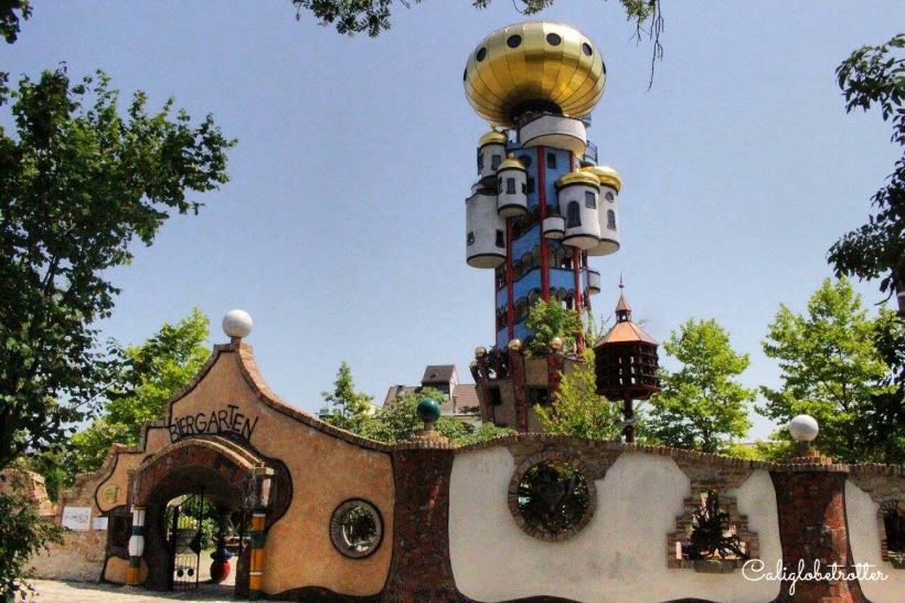 Hundertwasser Tower at the Kuchlbauer Brewery in Abensburg - California Globetrotter