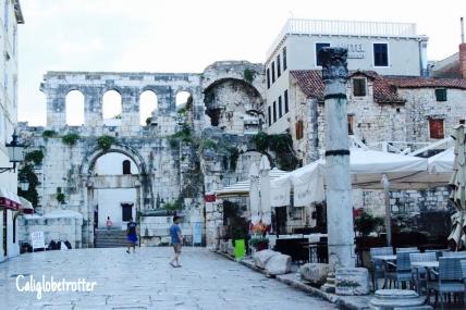 Diocletian's Palace - Split, Croatia - California Globetrotter