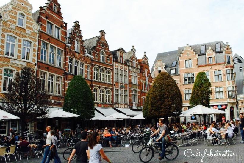 Leuven, Belgium - California Globetrotter