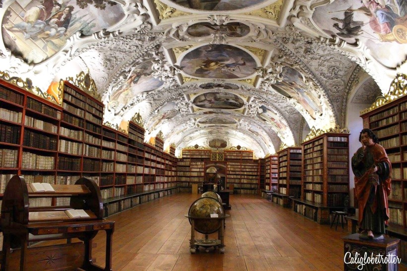 Theological Hall - Strahov Monastery Library - California Globetrotter