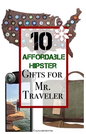10 Affordable Hipster Gifts for Mr. Traveler - California Globetrotter